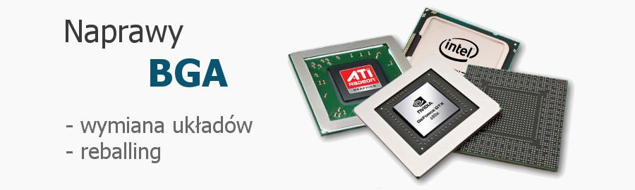 naprawy bga wymiana chipsetu grafiki